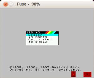 Fuse - SDL Spectrum emulator