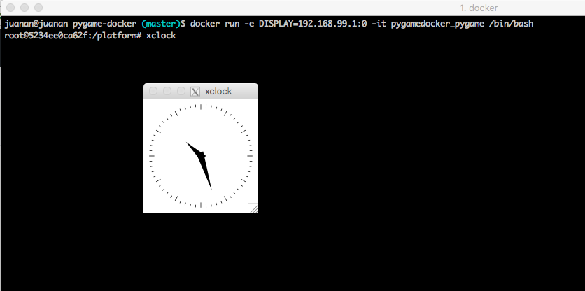 Running GUI applications with Docker in OSX – Ikasten IO